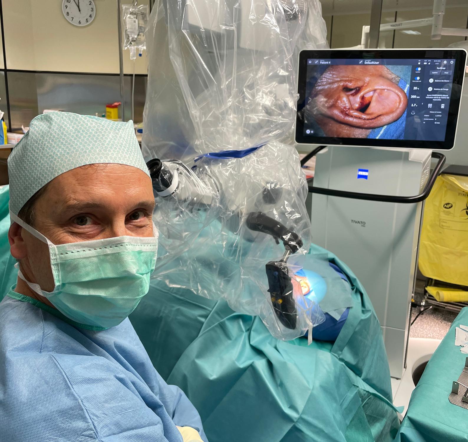 Docteur Laurent Tardivet ORL à Nice